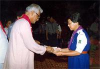 Award distribution to Scouts
