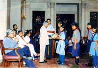 Award distribution by President